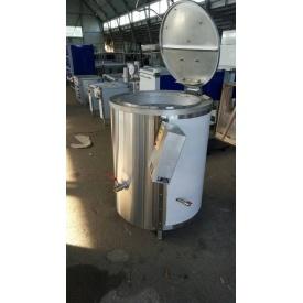 Котел харчоварильний з пароводяним нагріванням і міксером КПЕ-400 1300х1000 мм