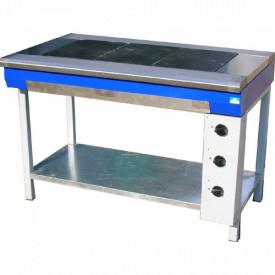 Плита електрична промислова ЕПК-3 стандарт 9 кВт (1013)