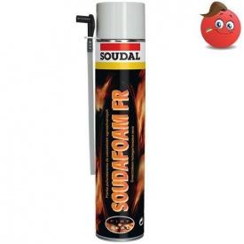 Пена монтажная огнестойкая Soudal Soudafoam FR 750 мл