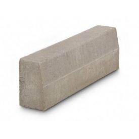 Бордюр дорожній бетонний сухопрессованный 100х30х15 см