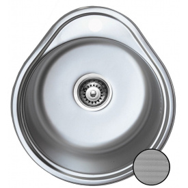 Кухонная мойка Galati Eko Lala нержавеющая сталь 48х43х18 см Textura