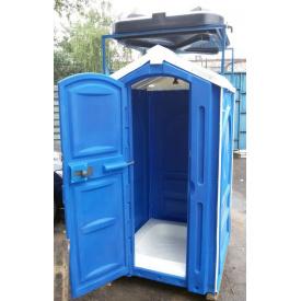 Душова кабіна вулична 2650х1150х1150 мм синя
