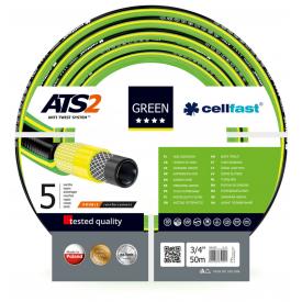 Шланг садовий Cellfast Green ATS2 для поливу 3/4 дюйма 50 м