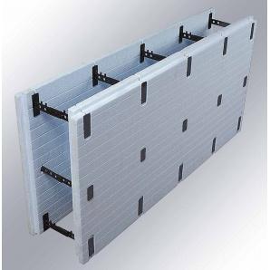 Термоблок розбірної з екструдованого пінополістиролу ICF block 600x1250 мм