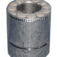 Труба утеплена нерж/оц довжина 0,25 м Fire Work 0,6 мм