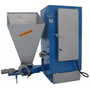 Твердопаливний котел тривалого горіння Wichlacz GKR 50/80 кВт (сталь 8 мм)(фракція 1-30 мм)