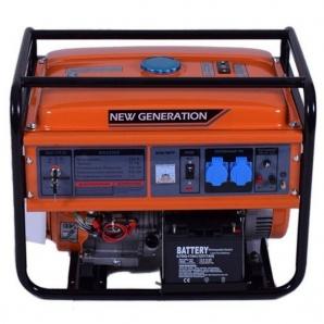 Бензиновий генератор New Generation NG5500E