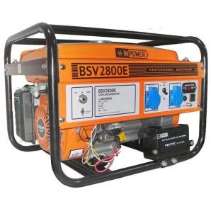 Бензиновий генератор InPOWER BSV5500E