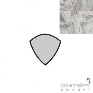 Керамограніт спеціальний елемент REх I MARMI DI REх MARBLE GRAY ANGOLO TORELLO LUC. 4х4 729 054