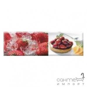 Плитка ABSOLUT KERAMIKA DECOR CANDY FRUITS 02 декор (10х30)