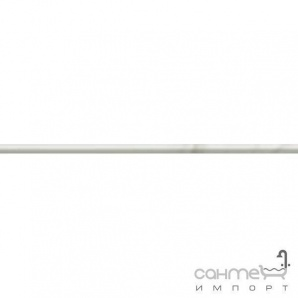 Плитка з білої глини фриз Atlas Concorde Marvel Travertino Alabastrino Spigolo LVSR
