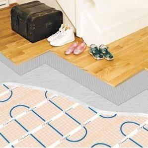Монтаж теплої підлоги Nexans з двожильного мата MILLIMAT/150 1800 Вт