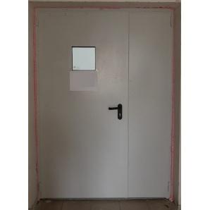 Противопожарная дверь ПромТехноКом металлическая EI-30 2100х1350 мм