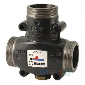 Термостатичний змішувальний клапан VTC512 ESBE G 1 1/2 55 C