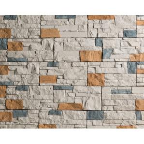 Плитка бетонна Einhorn під декоративний камінь МАРКХОТ-1031, 125Х250Х25 мм