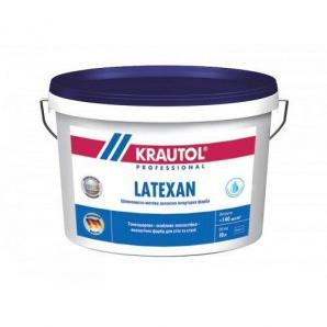 Фарба латексна інтер'єрна Krautol LATEXAN В1 10 л