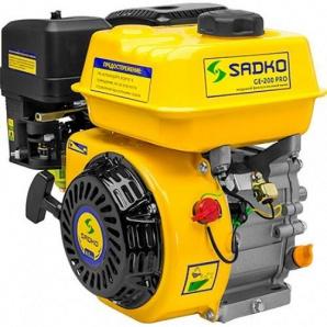 Двигун Sadko GE-200 PRO з шліцьовим валом