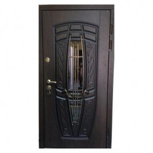 Вхідні двері Portala Преміум New Монако АМ18 Vinorit*2 металеві 850х2040 мм