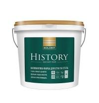 Краска латексная KOLORIT History 9 л