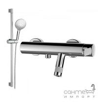 Змішувач для ванни з душовою стійкою GRB Tender 40337400 хром