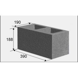 Будівельний блок 390х190х190 см