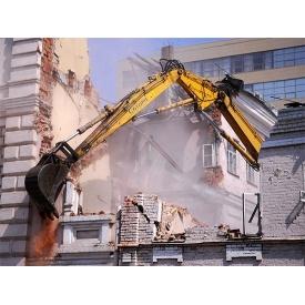 Демонтаж старых построек