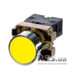Кнопка XB2-BA51 1NО желтая АскоУкрем