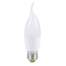 Лампа светодиодная свеча на ветру СF37 6W E27 2700K LB-737 Feron