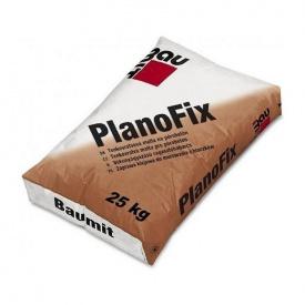 Тонкошарова клейова суміш Baumit PlanoFix для газобетонних блоків