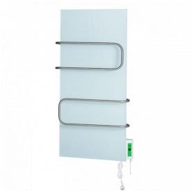 Керамическая панель DIMOL Standart 07 с полотенцесушителем с терморегулятором 370 Вт