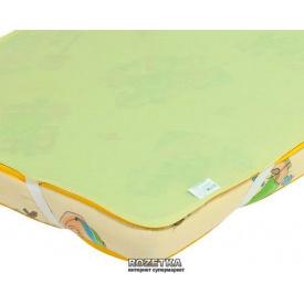 Наматрасник Эко Пупс Детский Непромокаемый Premium 65х125 см Зеленый