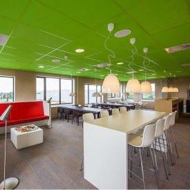 Акустическая влагостойкая плита Rockwool Rockfon Color All 600x600x15 мм зеленая