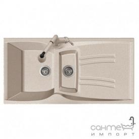 Кухонна мийка Adamant New Line Plus 01 біла