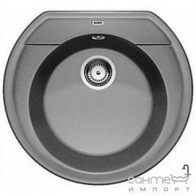Гранітна кухонна мийка Blanco Rondoval 45 Silgranit 515676 кави