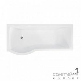Асимметричная ванна Besco Inspiro 160x70 белая левая