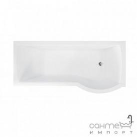 Асимметричная ванна Besco Inspiro 150x70 белая правая