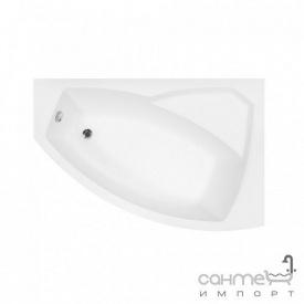 Асимметричная ванна Besco PMD Piramida Rima 140x90 белая правая