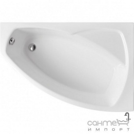 Ассиметричная ванна Polimat Frida I 140x80 P 00268 белая правая