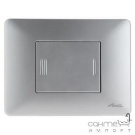 Панель смыва Nicoll-SAS Caiman 0709380 матовый хром