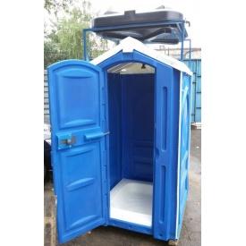 Душевая кабина уличная 2,65х1,15х1,15 м синяя