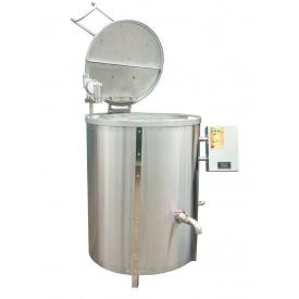 Котел харчоварильний з пароводяним нагріванням КПЕ-250 900х1100 мм