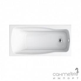 Прямоугольная акриловая ванна Cersanit Lana 140x70