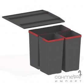Сортер Franke Easysort 450-1-2 черный пластик