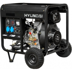 Дизельний генератор Hyundai DHY 7500LE-3
