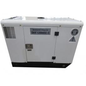 Дизельний генератор Hyundai DHY 12000SE-3
