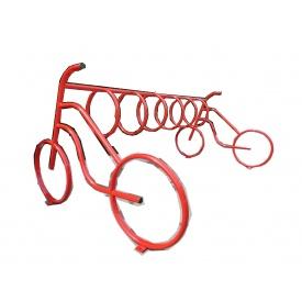 Велопарковка Дабл-Байк на 3 веломісця