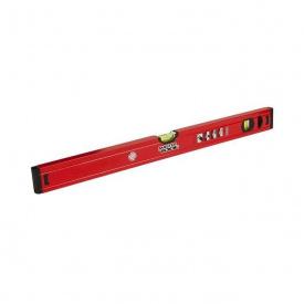 Уровень алюминиевый MasterTool 80 см 2 глазка (37-0803)