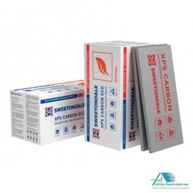 Пінополістирол екструдований XPS Sweetondale CARBON ECO 1180х580х40 мм 10 шт/уп 600246