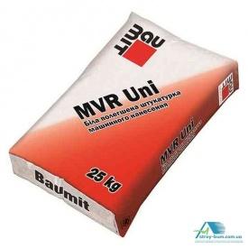 Цементно-известковая штукатурка с добавками перлита Baumit MVR Uni 25 кг