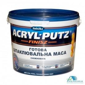 Шпаклевка готовая Sniezka Acryl-Putz 27 кг